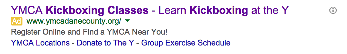 kickboxing search