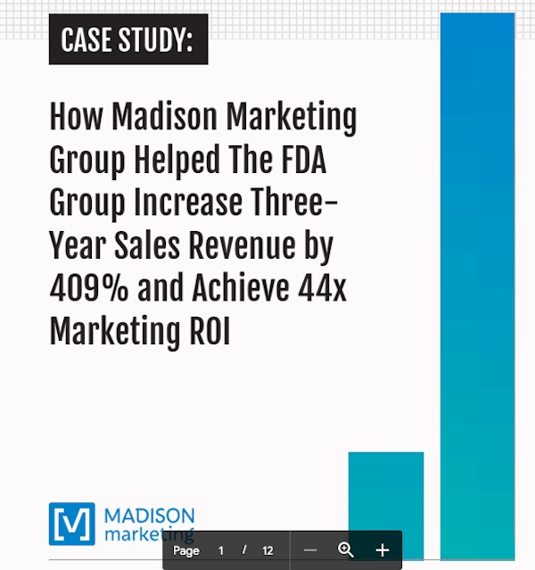 FDA Group case study cover