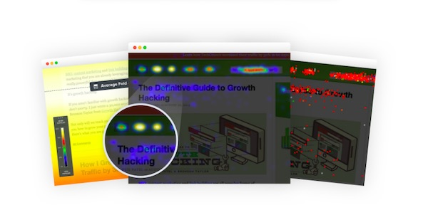 crazy egg heat mapping report screenshots