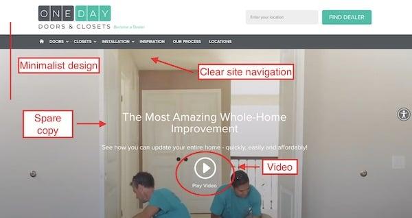 minimalist closet franchise website