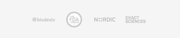 Biodesix FDA Group Nordic & Exact Sciences client logos